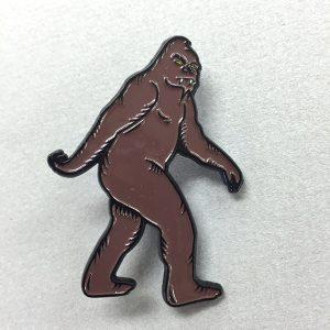 Bigfoot-Enamel-Pin