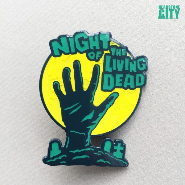 Horror Zombie Enamel Pin