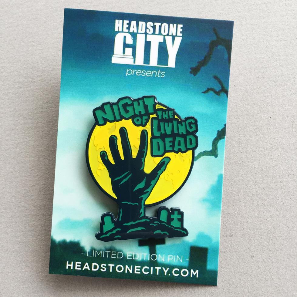 Horror Zombie Pin